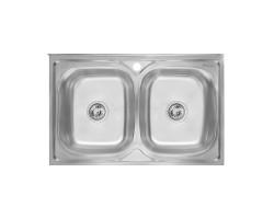 Кухонна мийка Imperial 6080 Satin (IMP6080SAT)