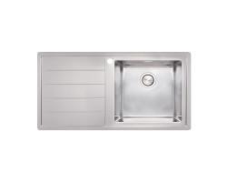 Кухонна мийка Apell Linear Plus LNP1001FLBC Brushed