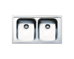 Кухонна мийка Apell Torino TO862IBC Brushed