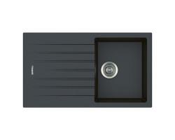 Кухонна мийка Apell Pietra Plus PTPL861GB Black granit