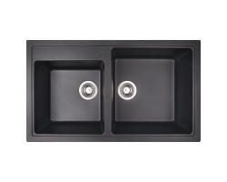Кухонна мийка Apell Pietra Plus PTPL862GB Black granit