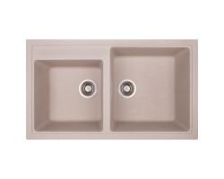 Кухонна мийка Apell Pietra Plus PTPL862GO Oats granit