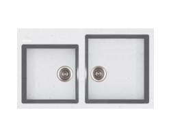 Кухонна мийка Apell Pietra Plus PTPL862GW Total white