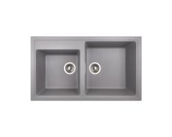 Кухонна мийка Apell Pietra Plus PTPL862AL Alluminium