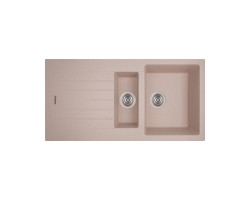 Кухонна мийка Apell Pietra Plus PTPL1002GO Oats granit