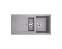 Кухонна мийка Apell Pietra Plus PTPL1002AL Alluminium