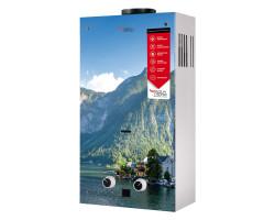 Газова колонка Aquatronic димарна JSD20-AG208 10 л скло (гори)