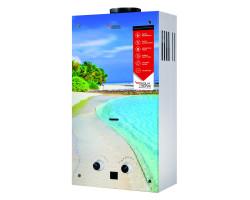 Газова колонка Aquatronic димарна JSD20-AG308 10 л скло (пляж)