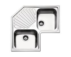 Кухонна мийка Apell Angolo ROAN2IBC Brushed