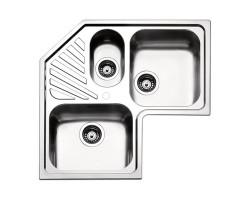 Кухонна мийка Apell Angolo ROAN3IBC Brushed