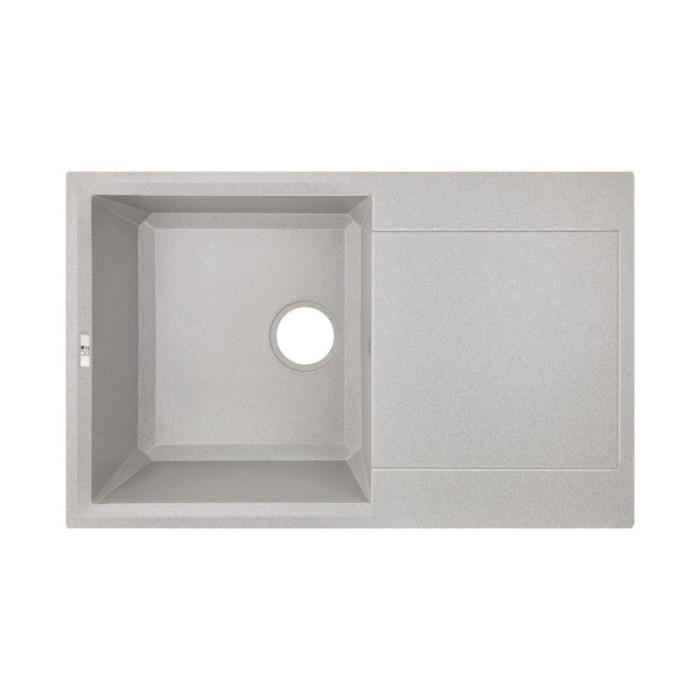 Кухонна мийка Lidz 790x495/230 GRA-09 (LIDZGRA09790495230)