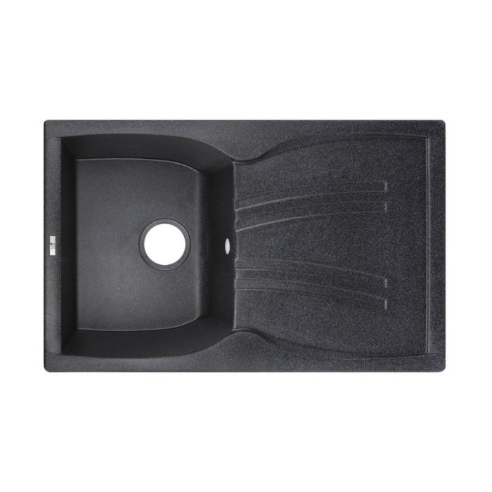Кухонна мийка Lidz 790x500/200 BLA-03 (LIDZBLA03790500200)