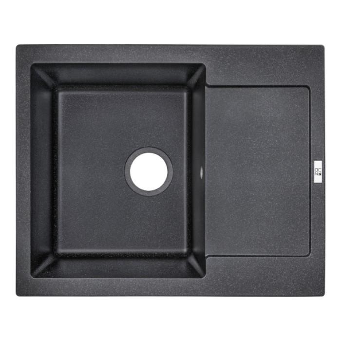 Кухонна мийка Lidz 625x500/200 BLA-03 (LIDZBLA03625500200)