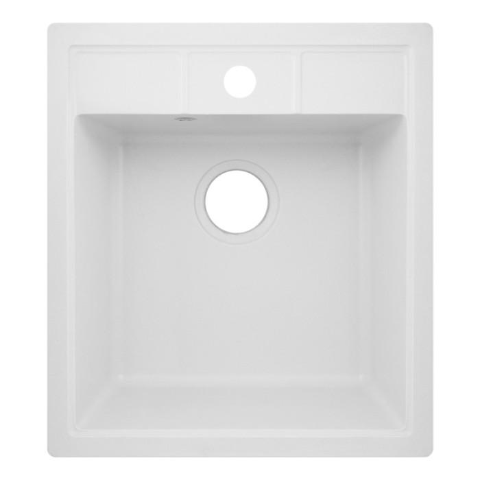 Кухонна мийка Lidz 460х515/200 WHI-01 (LIDZWHI01460515200)