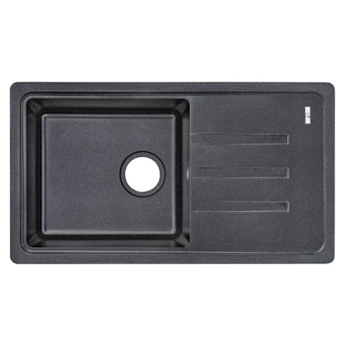 Кухонна мийка Lidz 780x435/200 BLA-03 (LIDZBLA03780435200)