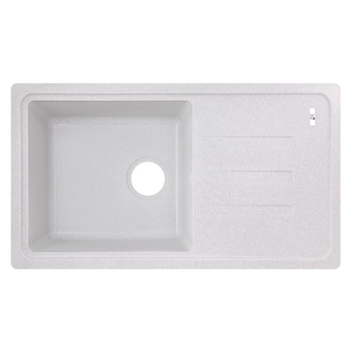 Кухонна мийка Lidz 780x435/200 GRA-09 (LIDZGRA09780435200)
