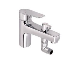 Змішувач для ванни Qtap Opava 31104NGC