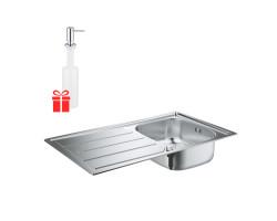 Набір Grohe мийка кухонна K200 31552SD0 + дозатор для миючого засобу Contemporary 40536000