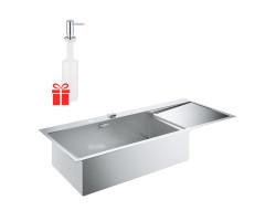 Набір Grohe мийка кухонна K1000 31581SD0 + дозатор для миючого засобу Contemporary 40536000