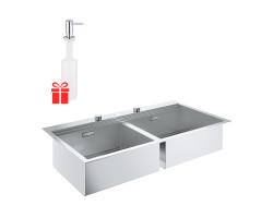 Набір Grohe мийка кухонна K200 31585SD0 + дозатор для миючого засобу Contemporary 40536000